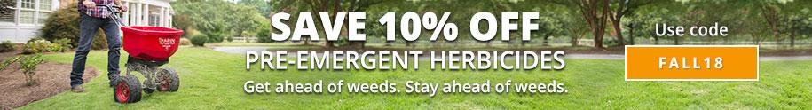 Pre-Emergent Herbicide Sale