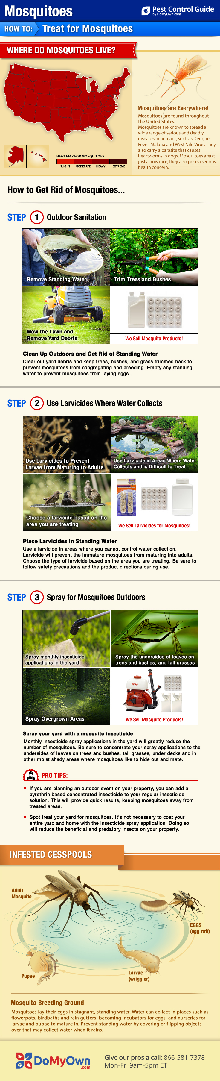 How To Get Rid Of Kill Mosquitoes