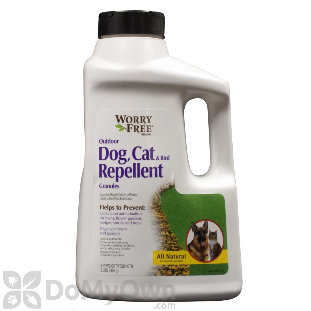 Worry Free Outdoor Dog, Cat And Bird Repellent Granules