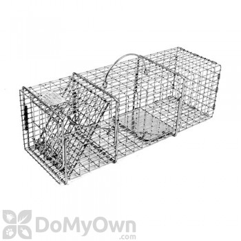 Tomahawk Professional Series Rigid Live Trap One Trap Door for Squirrels & similar sized animals - Model 103SS
