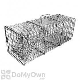 Tomahawk Professional Series Rigid Live Trap One Trap Door for Rabbits & similar sized animals - Model 106SS
