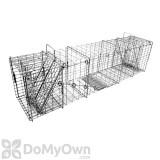Tomahawk Heavy Duty Rigid Trap Two Trap Doors for Large Raccoons & similar sized animals - Model 108.7