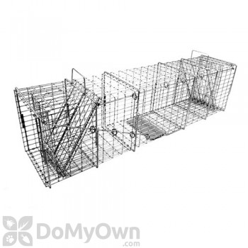Tomahawk Heavy Duty Rigid Trap Two Trap Doors for Large Raccoons & similar sized animals - Model 108.7