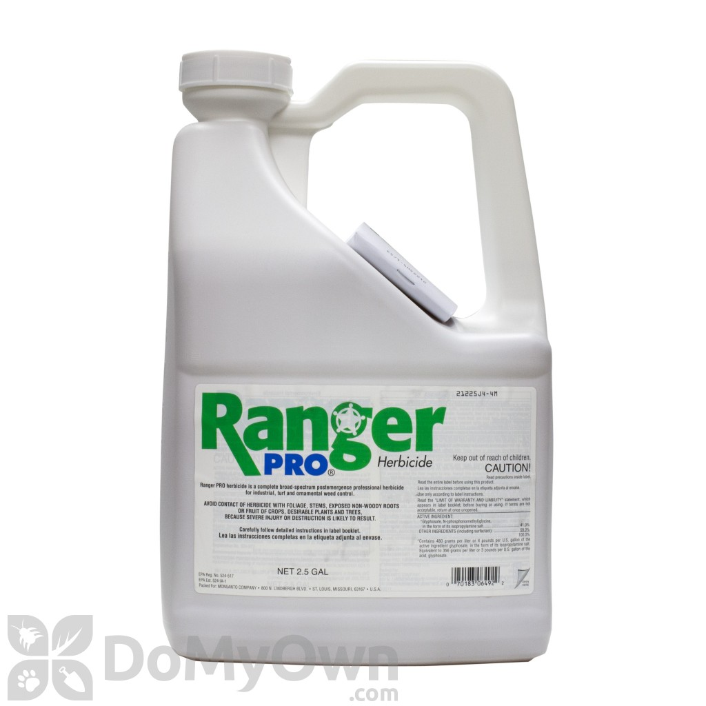 It is a photo of Ambitious Ranger Pro Herbicide Label