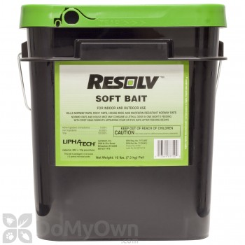 Resolv Soft Bait Rodenticide - 16 lb pail