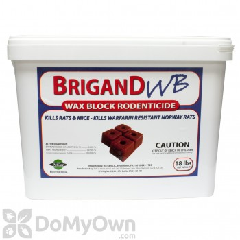 Brigand WB - Wax Block Rodenticide