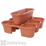 Bloem Milano Rail Planter Set 21