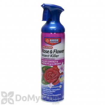 Bayer Advanced Dual Action Rose and Flower Insect Killer Continuous Spray