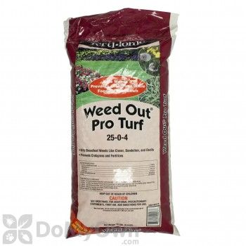 Fertilome Weed Out Pro Turf 25-0-4 Lawn Fertilizer