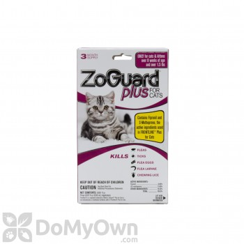 ZoGuard Plus For Cats