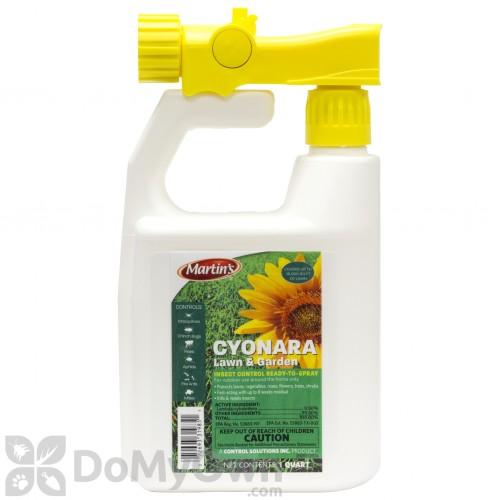 rts cyonara lawn yard and garden insect spray free shipping