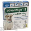 Advantage II Flea and Lice Treatment for Medium Dogs 11 - 20 lbs.