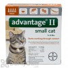 Advantage II Flea Treatment for Small Cats 5 - 9 lbs.