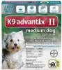 K9 Advantix II Topical Treatment for Medium Dogs (11 - 20 lbs.)
