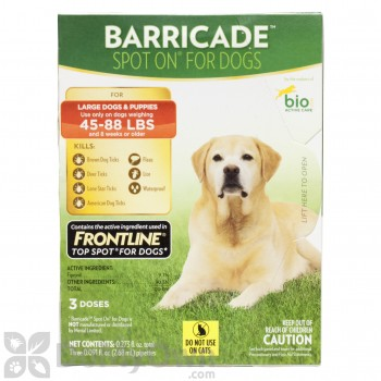 Bio Spot Active Care Barricade Spot On for Large Dogs