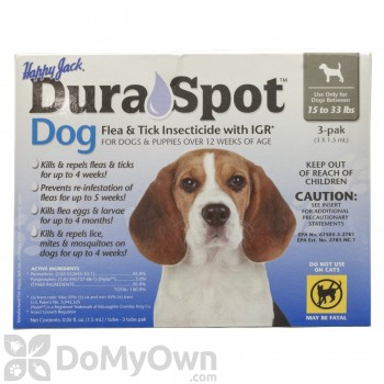 Happy Jack DuraSpot Flea and Tick Insecticide with IGR