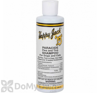 Happy Jack Paracide Flea And Tick Shampoo