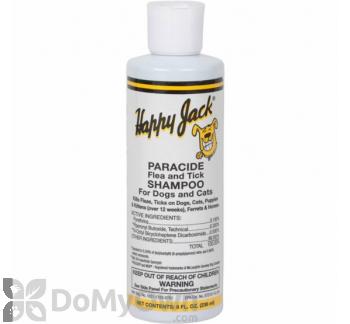 Happy Jack Paracide Flea And Tick Shampoo