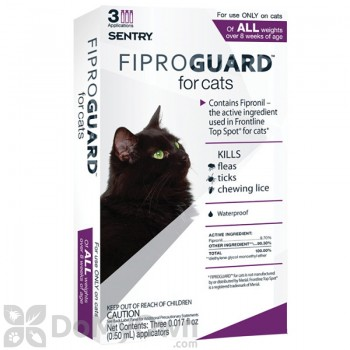 Fiproguard for Cats Flea and Tick Treatment