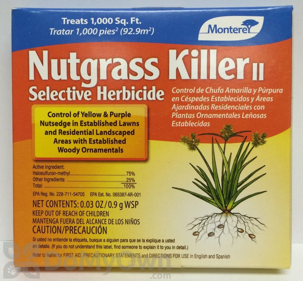 How to get rid of nut grass - Quick View Monterey Nutgrass Killer Ii Selective Herbicide