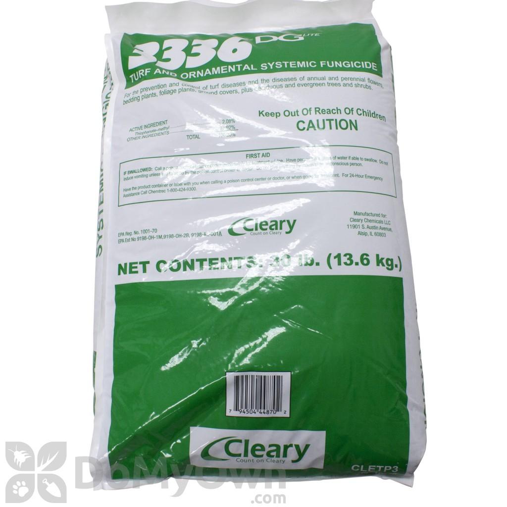 Clearys 3336G Fungicide Granules, 3336 DG Lite Granular Fungicide