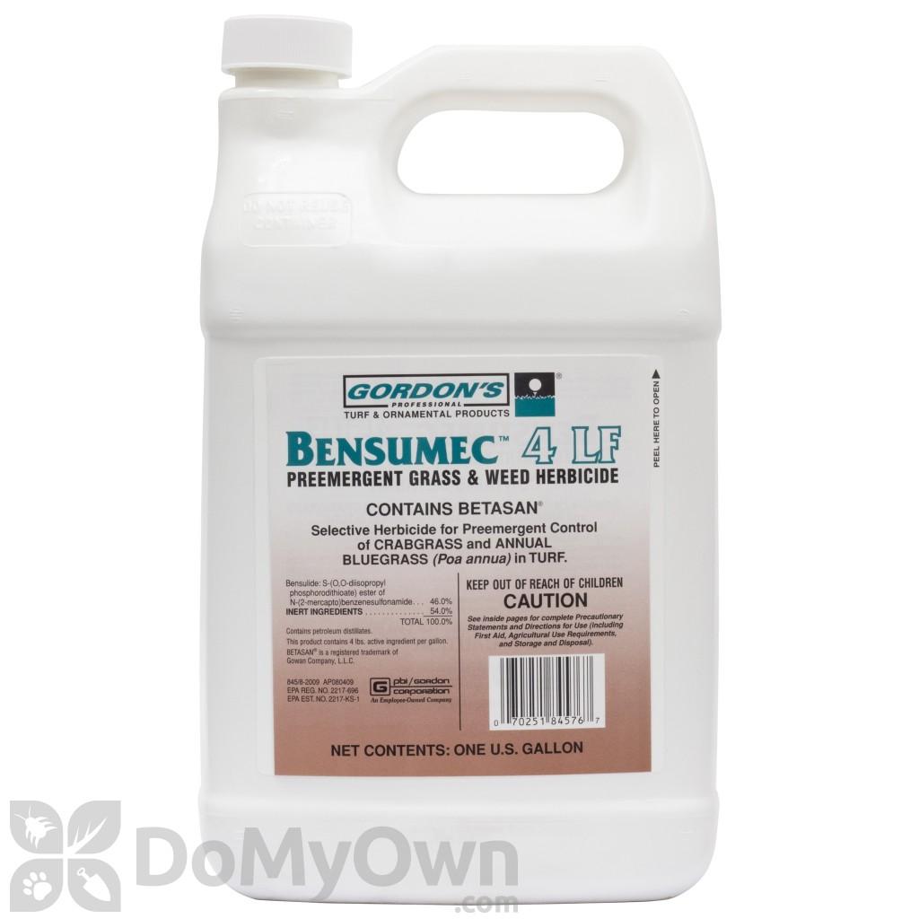bensumec 4lf herbicide - Preemergent Herbicide