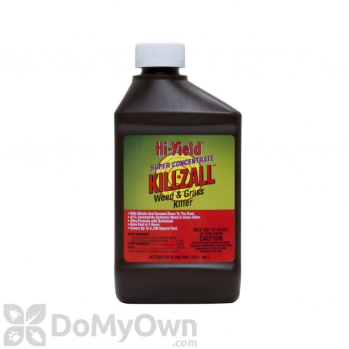 Killzall Grass And Weed Killer 41 Glyphosate Hi Yield