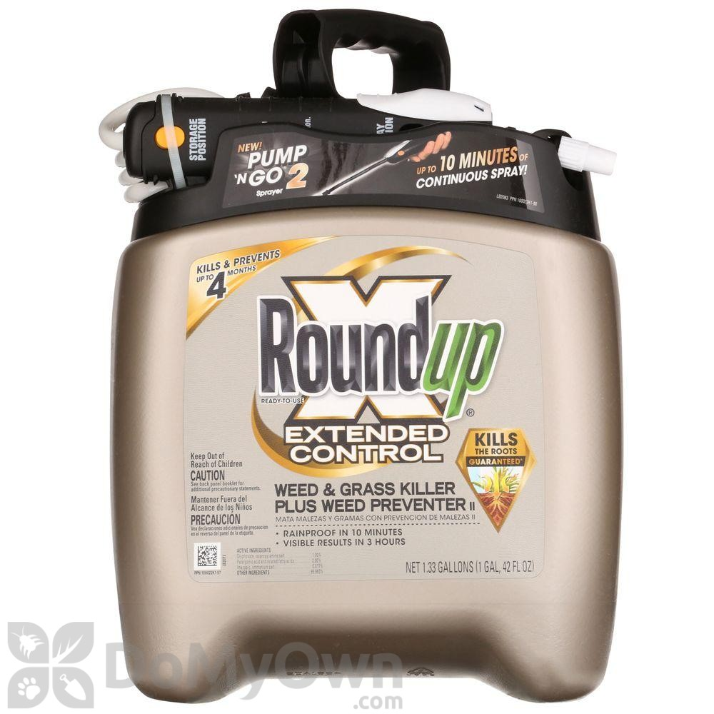 Roundup Ready-To-Use Extended Control Weed & Grass Killer ...