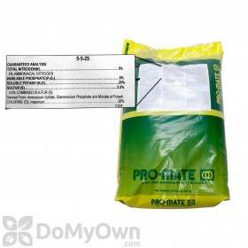 Pro-Mate 5-5-25 Fertilizer with Barricade Pre Emergent