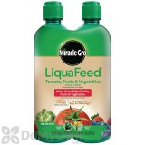 Miracle-Gro LiquaFeed Tomato, Fruits and Vegetables Plant Food 2-Pack Refills