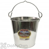 Little Giant Galvanized Dairy Pail 8 qt.