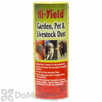 Hi-Yield Garden, Pet, and Livestock Dust