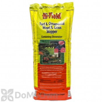 Hi-Yield Weed and Grass Stopper with Dimension Herbicide - 35 lb. bag