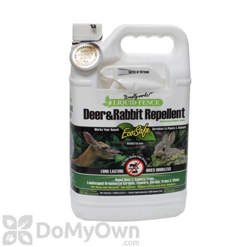 Liquid Fence Deer Rabbit Repellent Rtu 109 1 Gallon