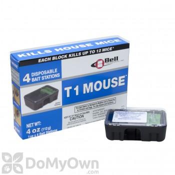 T1 Mouse Pre-baited Disposable Bait Stations - 4 oz