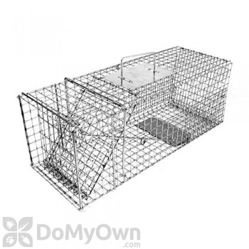 Tomahawk Original Series Collapsible Live Trap One Trap Door for Rabbits & similar sized animals - Model 205