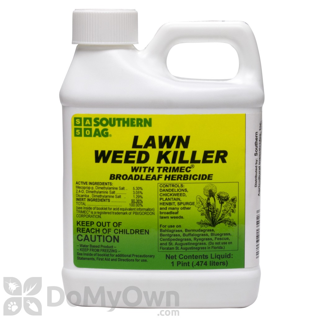 Weeds in flower beds herbicide - Quick View Southern Ag Lawn Weed Killer With Trimec
