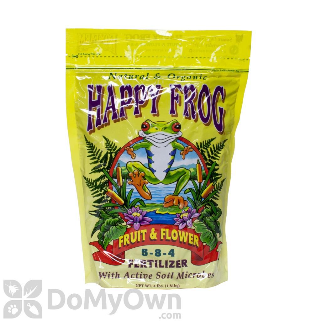 Foxfarm happy frog fruit and flower organic fertilizer 5 8 4 - Organic flower fertilizer homemade solutions ...