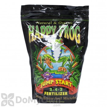 FoxFarm Happy Frog Jump Start Organic Fertilizer 3-4-3