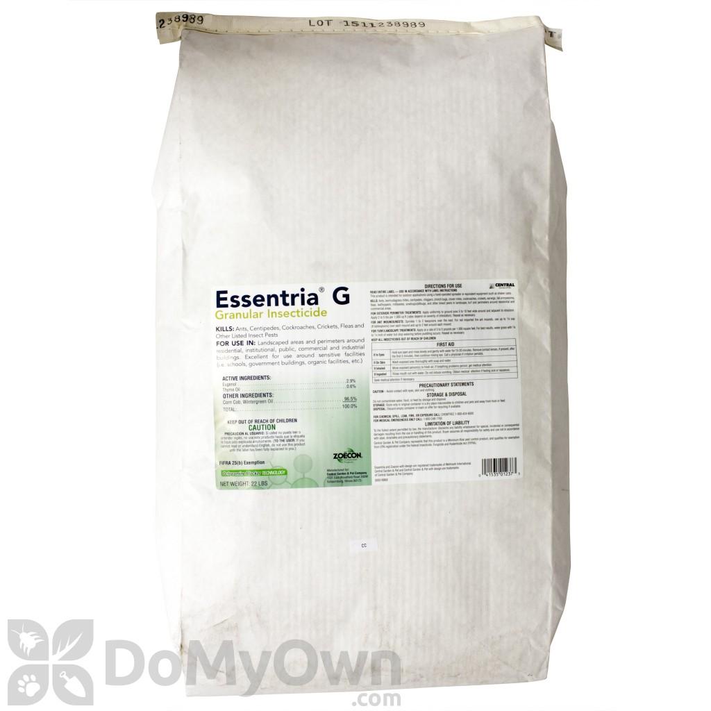 essentria g granules insecticide natural pest control organic