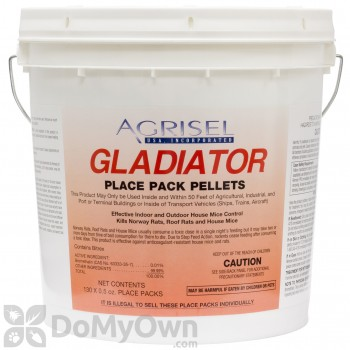 Gladiator Place Pack Pellets