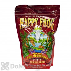 FoxFarm Happy Frog Tomato and Vegetable Organic Fertilizer 7-4-5