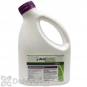 Avid 0.15 EC Miticide Insecticide - Gallon