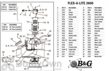 B&G Supply Tube - Part (8188-18)