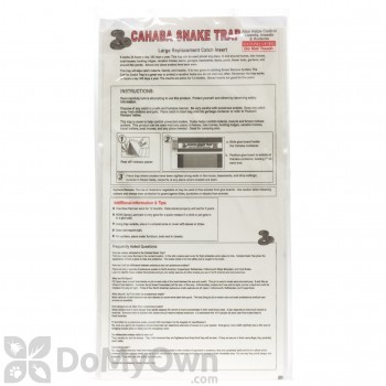 Cahaba Snake Trap Replacement Glue Insert - Large