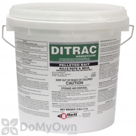 DITRAC Rodenticide Pelleted Bait