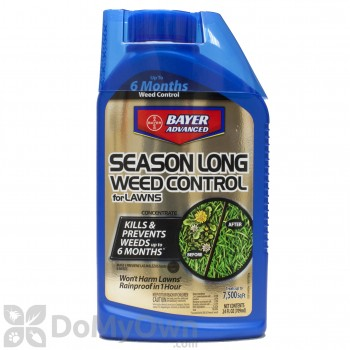 Bayer Advanced Season Long Weed Control For Lawns Concentrate