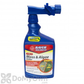 Bayer Advanced 2 In 1 Moss & Algae Killer RTS