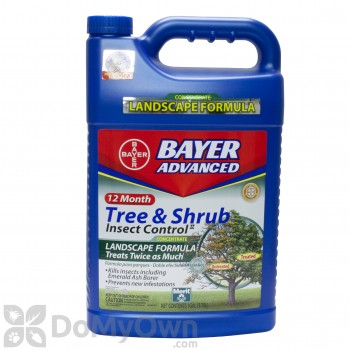 Bayer Advanced 12 Month Tree & Shrub Insect Control Landscape Formula