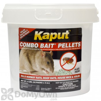 Kaput Combo Bait Pellets - 32 placepacks